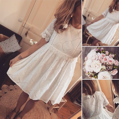 Robe en broderie Anglaise Adrienne