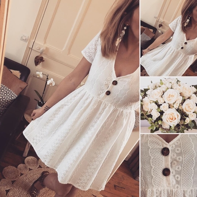 Robe en broderie Anglaise Anniesse