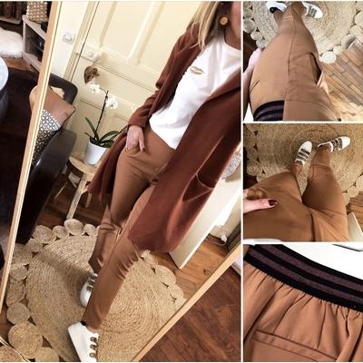 Pantalon taupe Joanny