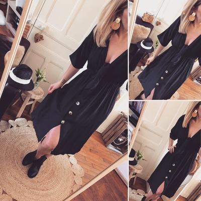 Robe Louise noire