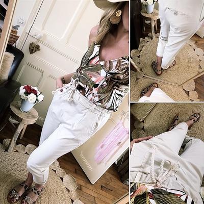 Pantalon Manoa beige