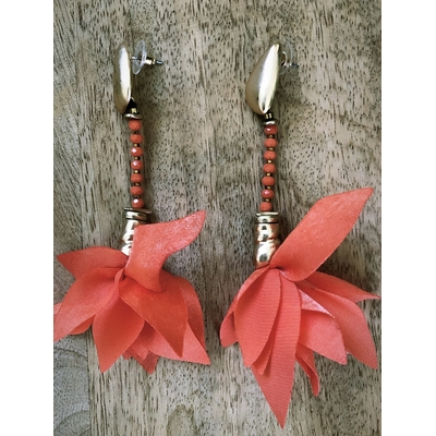 Boucles Lalie orange