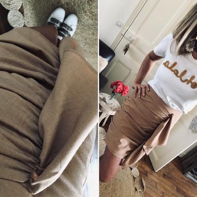 Jupe Olia Camel