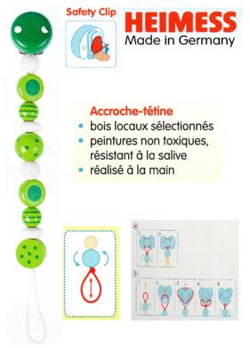 Accroche-tute-Heimes-verte