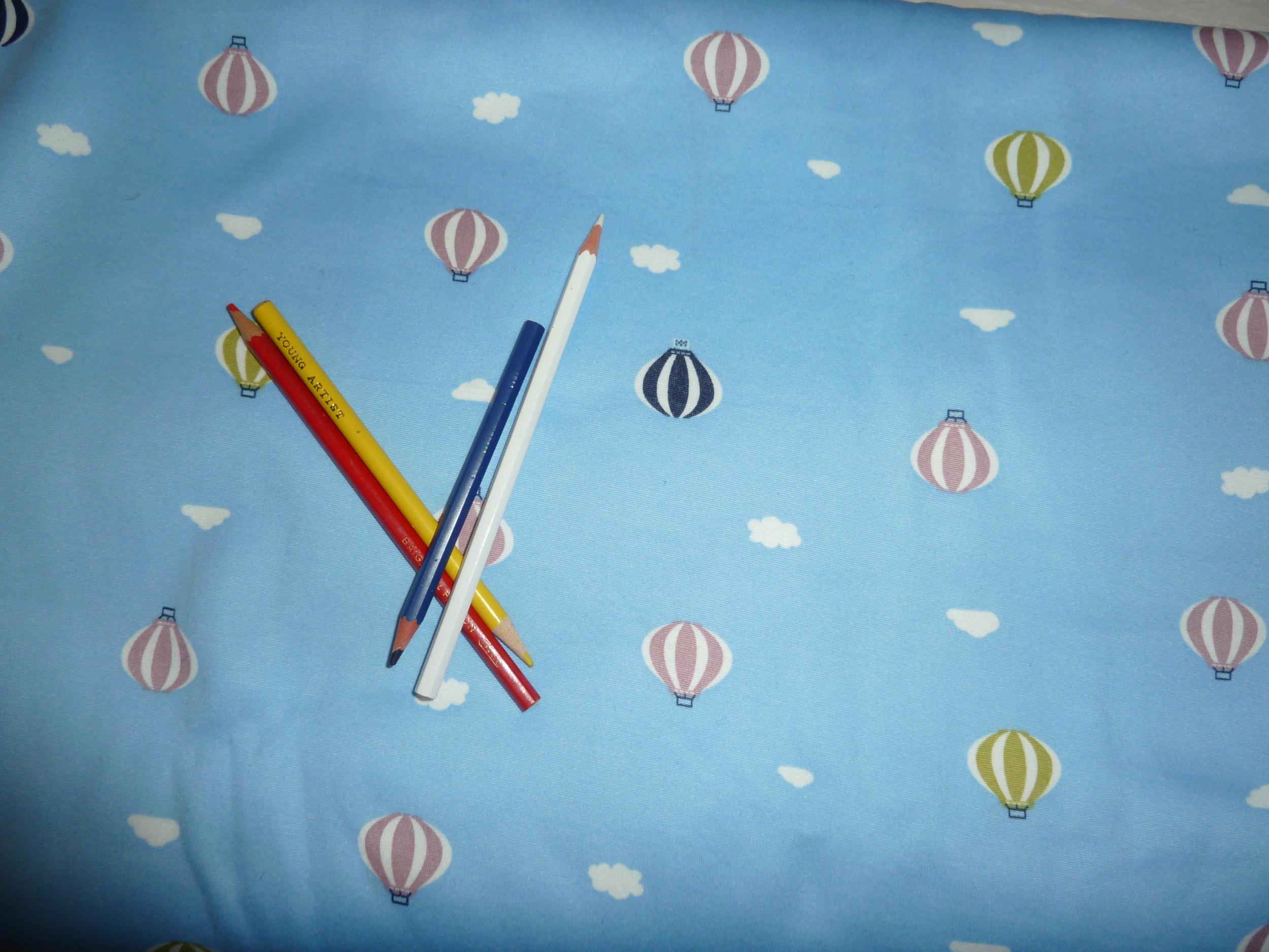 Traversin câlin - Tour de lit -Sweet jersey petites mongolfières
