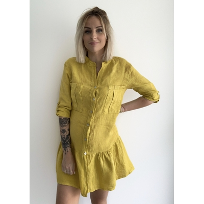 Robe Monica jaune