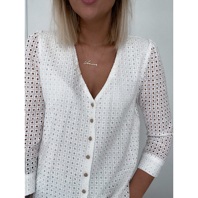 Blouse Emma blanche