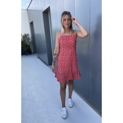 Robe Paola rouge