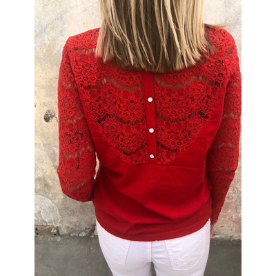 Pull Constance rouge