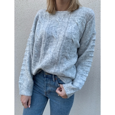 Pull Line gris