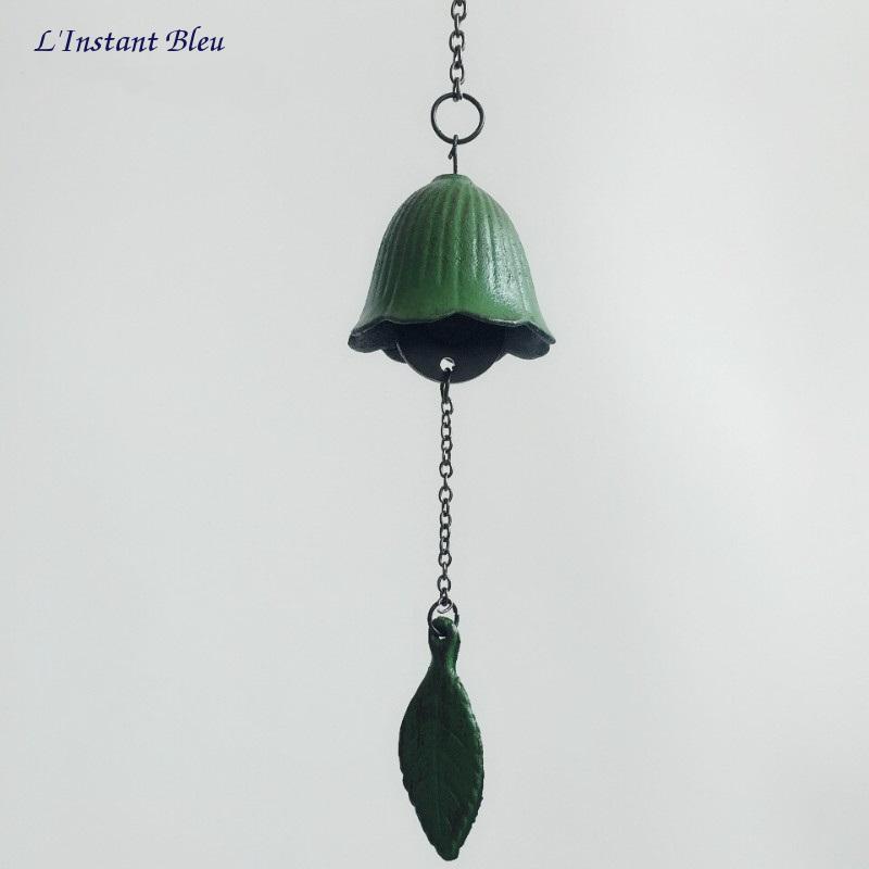 Cloche traditionnelle Feng Shui en fonte «Ghaṇṭā» -2