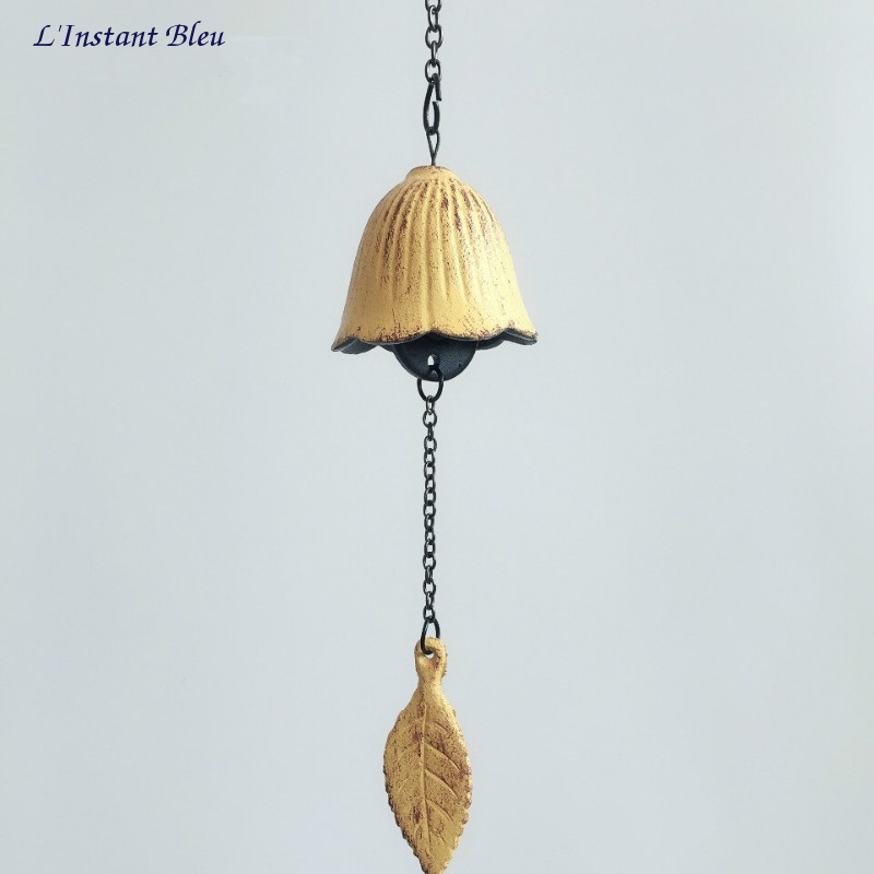 Cloche traditionnelle Feng Shui en fonte «Ghaṇṭā» -3