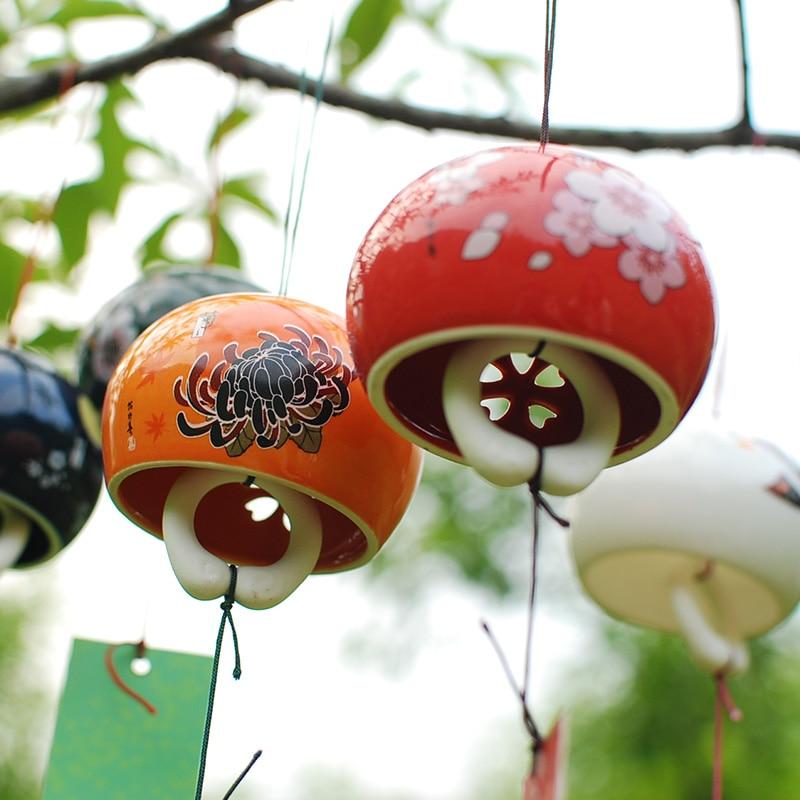 Cloche traditionnelle Feng Shui En Céramique «Dōrje»%0A-18