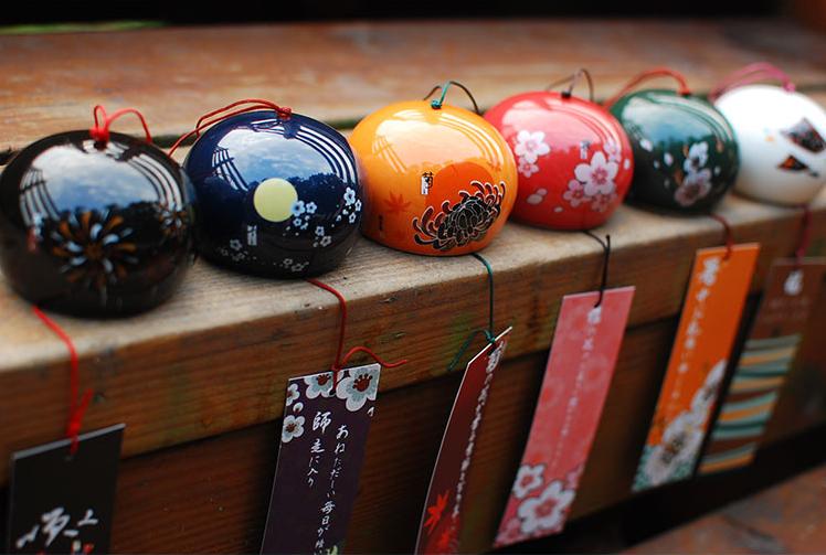 Cloche traditionnelle Feng Shui En Céramique «Dōrje»%0A-20