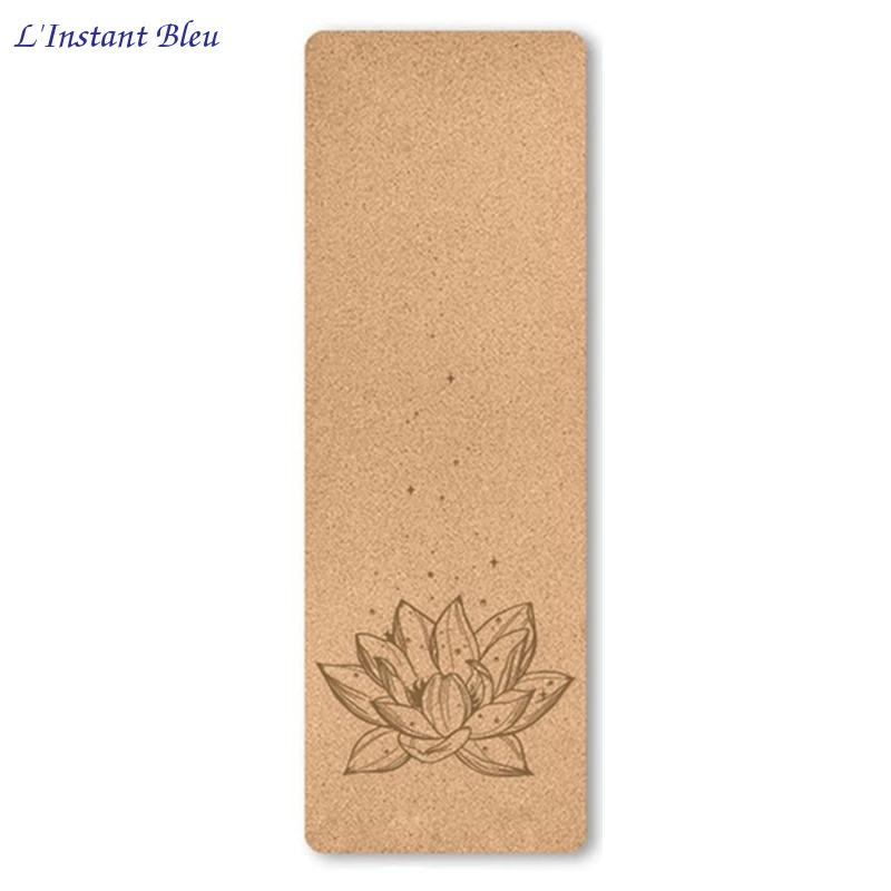 Tapis de Yoga « Namasté» en Liège naturel – 183 x 61 cm – 4 mm d'épaisseur-3.1