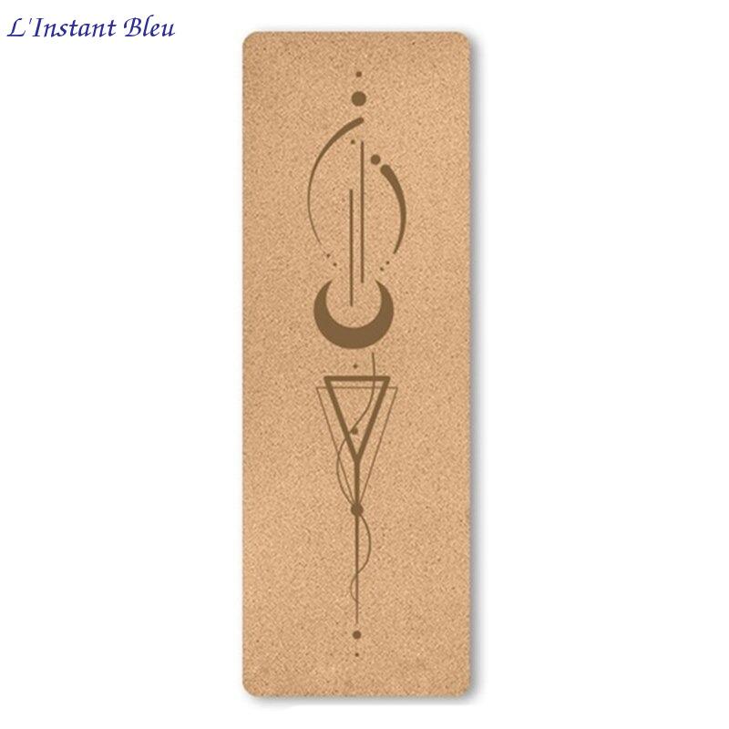 Tapis de Yoga « Namasté» en Liège naturel – 183 x 61 cm – 4 mm d'épaisseur-9.1