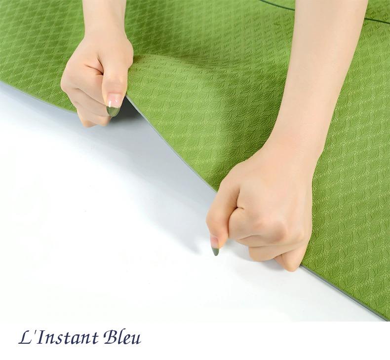 Tapis de Yoga coloré « Saṃsāra » Mandala – 183 x 58 cm –  6 mm d'épaisseur-2.1