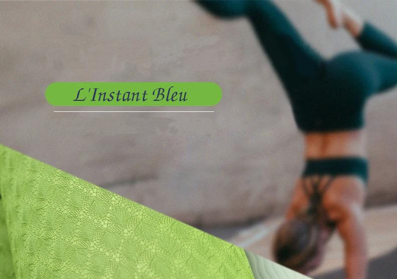 Tapis de Yoga coloré « Saṃsāra » Mandala – 183 x 58 cm –  6 mm d'épaisseur-7