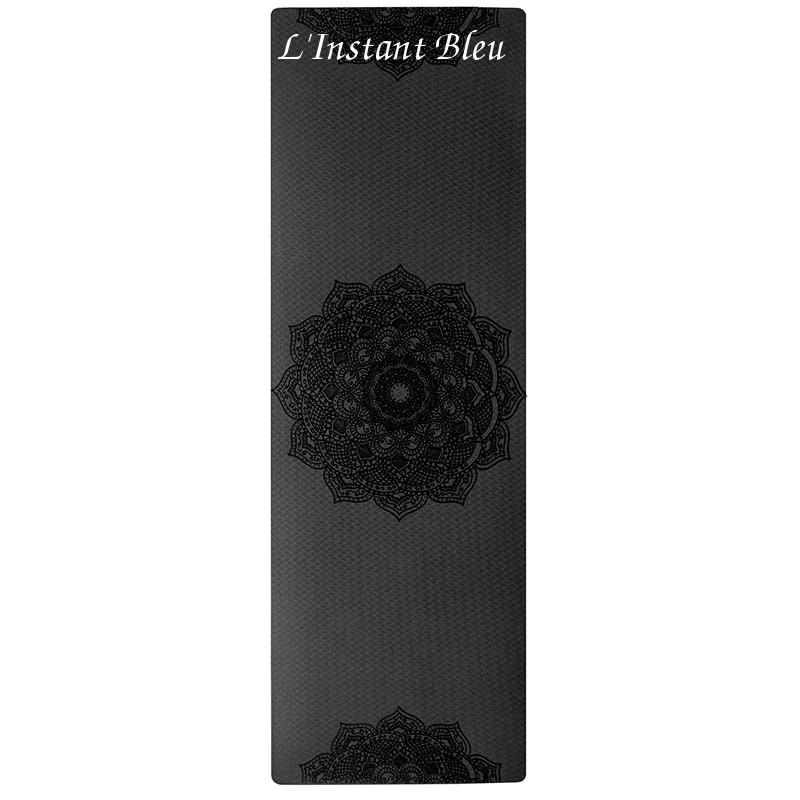 Tapis de Yoga coloré « Saṃsāra » Mandala – 183 x 58 cm –  6 mm d'épaisseur-14.1