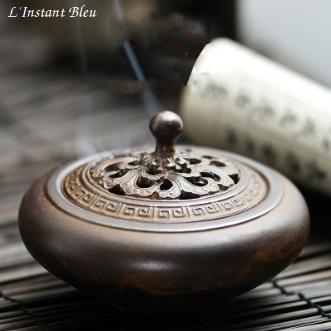 Brûleur d'Encens traditionnel céramique-2