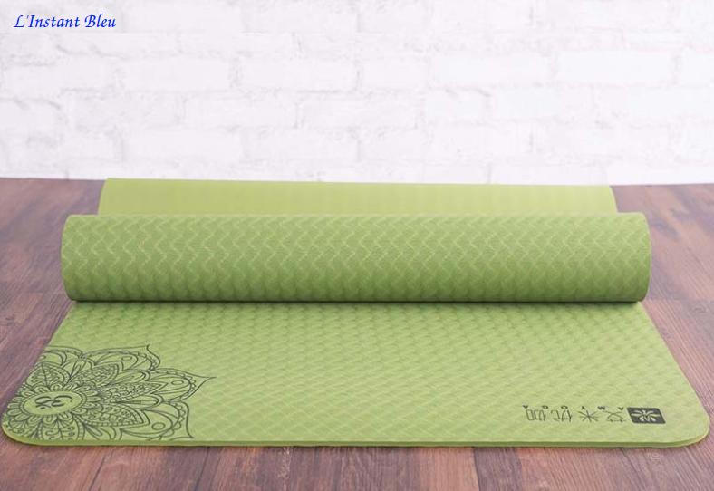 Tapis de Yoga Lotus - gros plan
