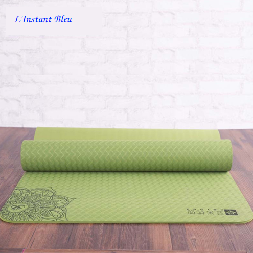 Tapis de Yoga Lotus - Vert