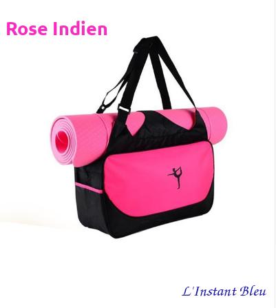 Sac à Tapis de Yoga imperméable de grande capacité «Nandi»- Rose