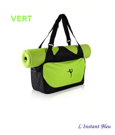 Sac à Tapis de Yoga imperméable de grande capacité «Nandi»-Vert