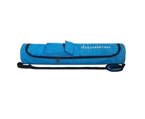 Sac à Tapis imperméable «Feng Shang Yoga»-Bleu azur-
