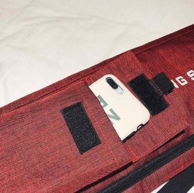 Sac à Tapis imperméable «Feng Shang Yoga»-Détails poche extérieure
