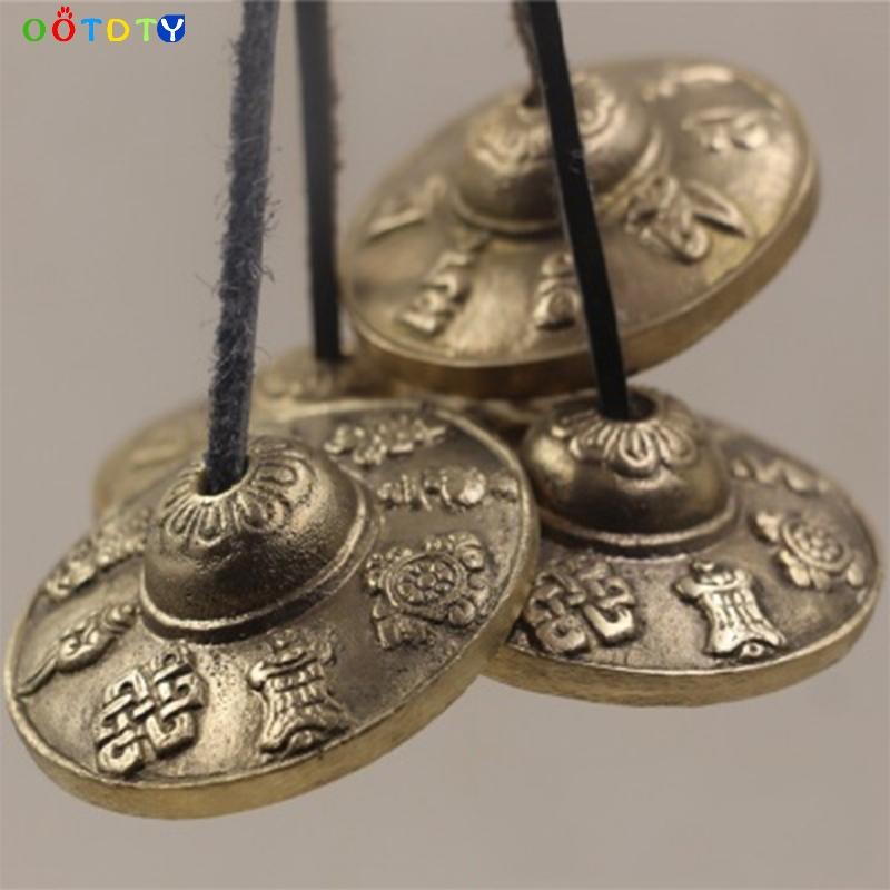 2-4-pouces-6-3-cm-Fabriqu-s-La-Main-Tib-tain-M-ditation-Tingsha-Bell