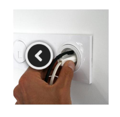 Câble USB de mise à la terre  à douille cylindrique-2