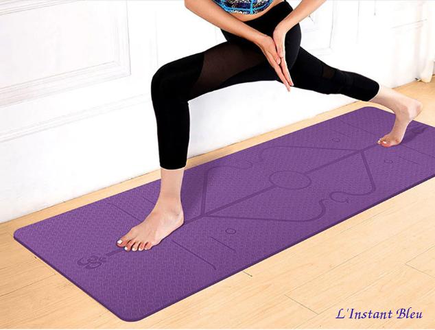 Tapis de Yoga «Triśūla » Alignement-4