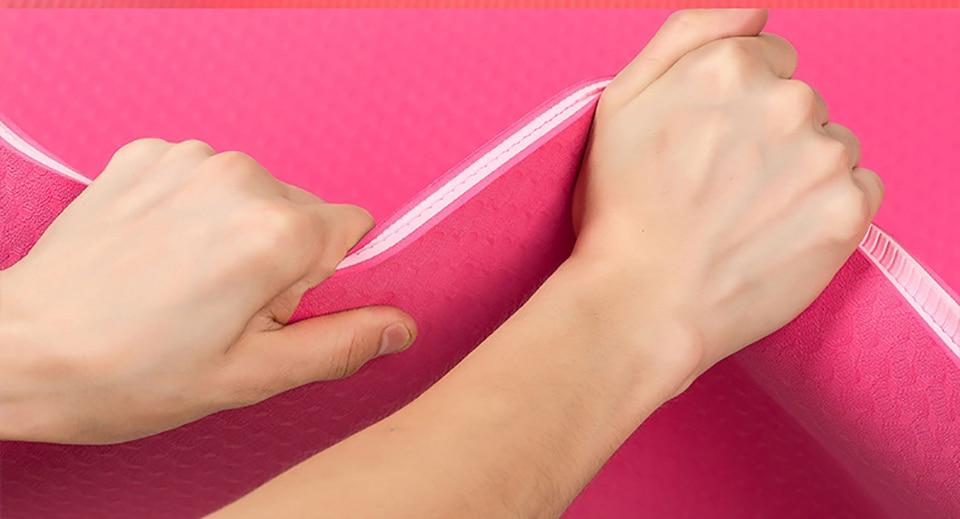 183-61-cm-6mm-pais-Double-Couleur-Non-slip-TPE-Tapis-De-Yoga-Qualit-Exercice-Sport
