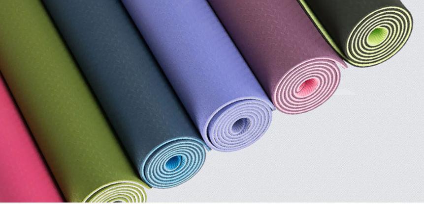 Tapis de Yoga bicolore «Maṇipūra» avec Sac de transport-6 couleurs