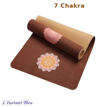 Tapis de Yoga «Bīja» 7 Chakra, Mandala et Nature- 7 chakra