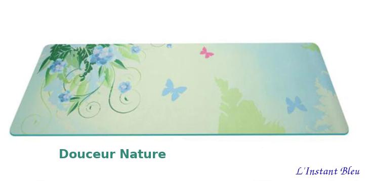 Tapis de Yoga «Bīja» 7 Chakra, Mandala et Nature- Douceur Nature