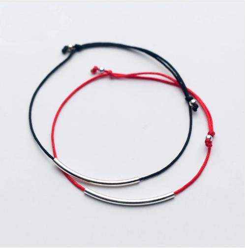 bracelet cheville cordon