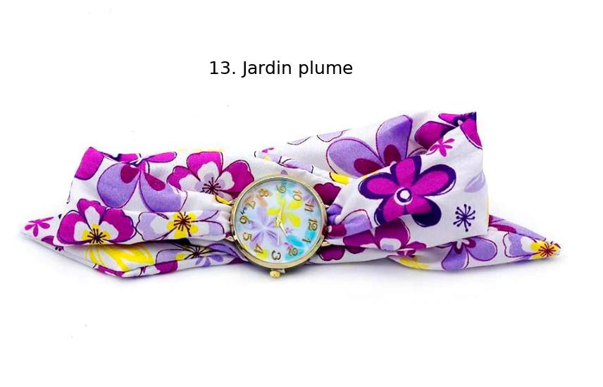 Montre-Bracelet Bohème «Shuṣhumnā» Esprit d'été-13.1