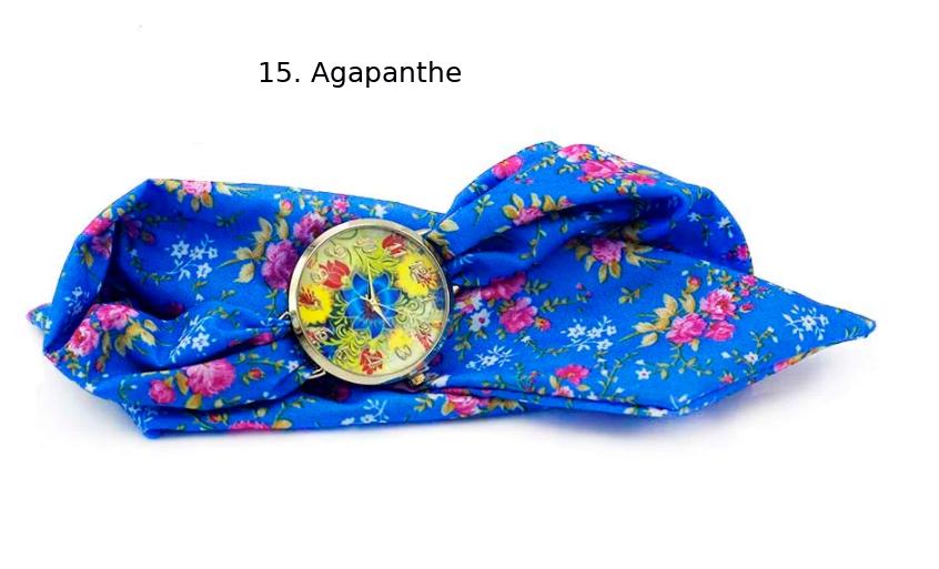 Montre-Bracelet Bohème «Shuṣhumnā» Esprit d'été-15.1