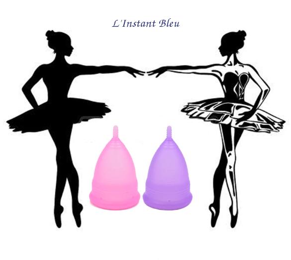 Coupe menstruelle Pastel en Silicone de qualité médicale + Boîte + Pochette-10.1