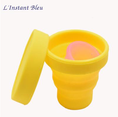 Coupe menstruelle Pastel en Silicone de qualité médicale + Boîte + Pochette-15.2