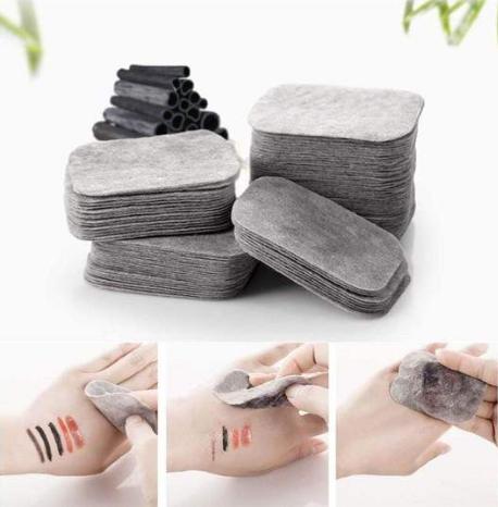 Boîte de 200 Lingettes démaquillantes Anti-bactériennes, lavables en fibres de Bambou-1