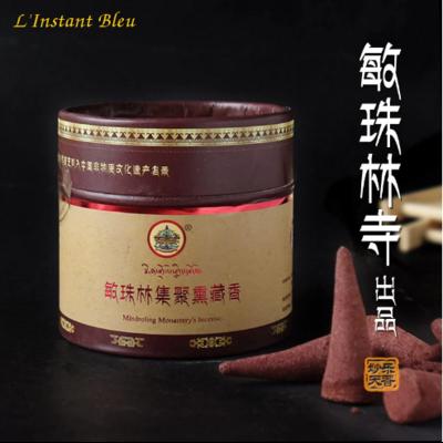 Coffret d'Encens thérapeutiques Tibétains «Mindroling» côniques