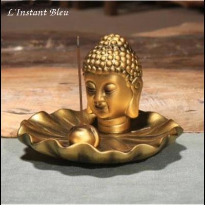 Porte-Encens«Bouddha Śākyamuni » en céramique