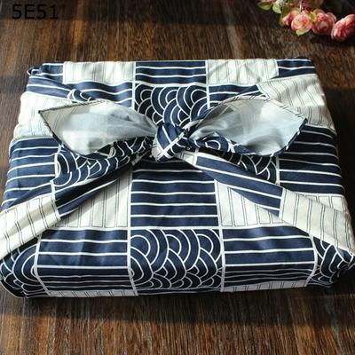 Furoshiki: Tissus d'emballage cadeau « Deepā» 50 à 158 cm