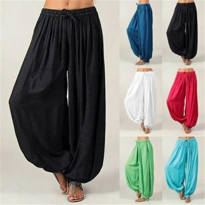 Pantalon de Yoga Grand Confort «Lakṣmī» esprit Bohème
