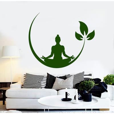 Sticker mural «Bouddha Méditation»