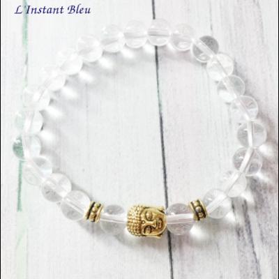 Bracelet bohème «Boddhisattva» Esprit de Lumière