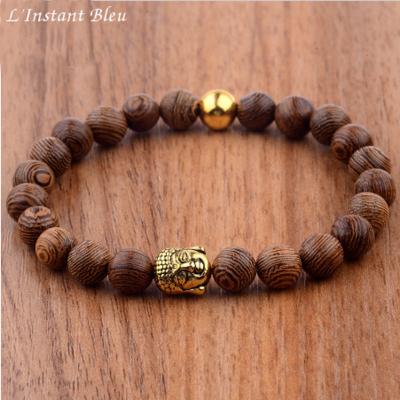 Bracelet bouddhiste «Shri Kṛiṣhṇa» Esprit de la Nature